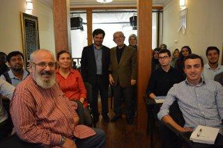 İlk Dersimizin Konuğu Prof.Dr. Servet Bayındır