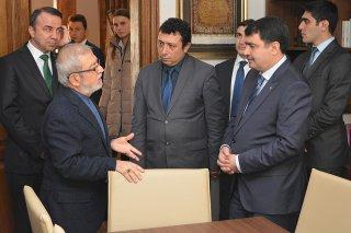 İstanbul Valisi Vasip Şahin Vakfımızı Ziyaret Etti